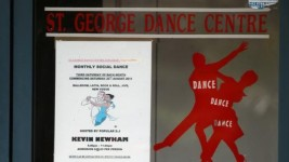 The St George dance studio where the girl was attacked. Picture: John Grainger